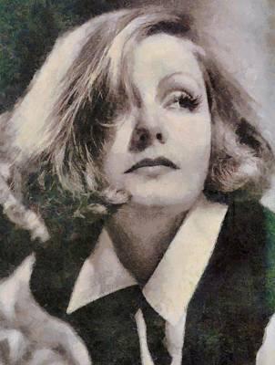 Greta Garbo Vintage Hollywood Actress Poster