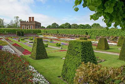 Poster featuring the photograph Hampton Palace Gardens by Elvira Butler