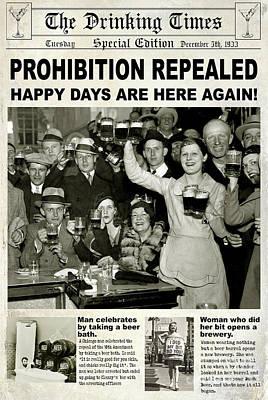 Happy Days Are Here Again Poster by Jon Neidert