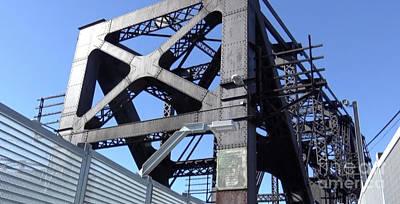 Harahan Bridge Memphis Poster by Karen Francis