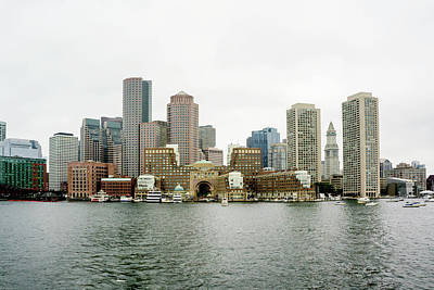 Poster featuring the photograph Harbor View by Greg Fortier