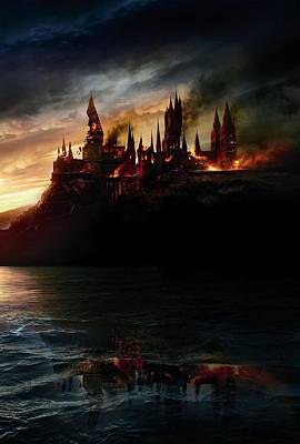 Harry Potter And The Deathly Hallows Part I 2010  Poster