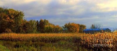 Harvest Poster by Elfriede Fulda