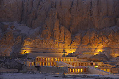 Hatshepsuts Mortuary Temple Rises Poster