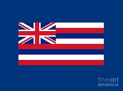 Hawaii Flag Poster by Frederick Holiday