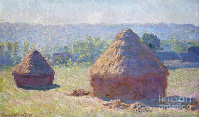 Haystacks - End Of Summer Poster