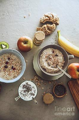 Healthy Breakfast Variety Poster