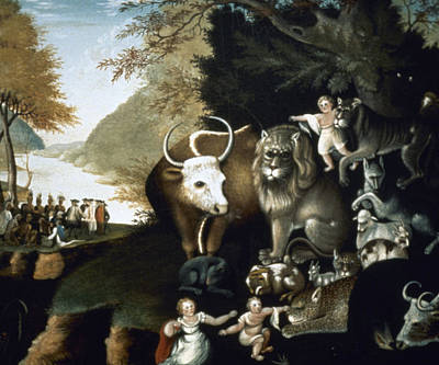 Hicks: Peaceable Kingdom Poster