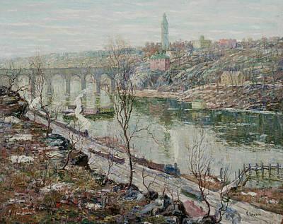 High Bridge, Harlem River Poster
