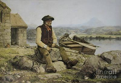 Highland Ferryman Poster