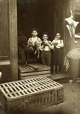 Hine: Child Labor, 1908 Poster