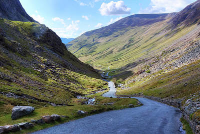 Honister Pass - Lake District Poster by Joana Kruse