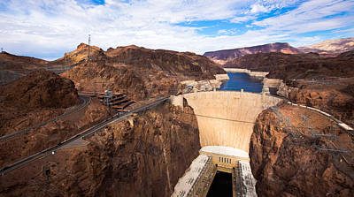 Hoover Dam Poster by Phong Trinh