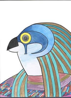 Horus Poster by Camilla Gonzalez