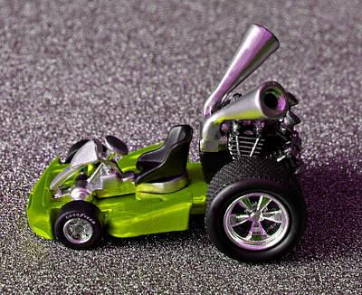 Hotwheels Go Kart Custom Poster by Bruce Roker