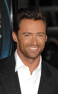 Hugh Jackman At Arrivals For L.a Poster by Everett