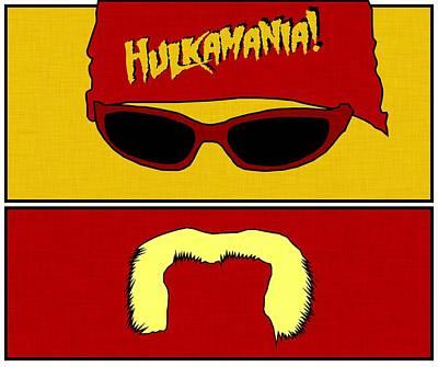 Hulk Hogan - Hulkamania Poster