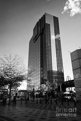 Hyatt Regency Hotel And Centenary Square Birmingham Uk Poster by Joe Fox