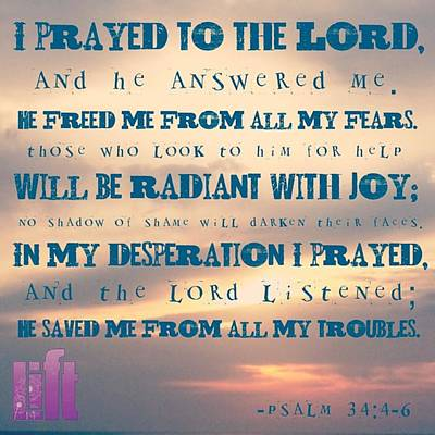I Will Praise The Lord At All Times.  I Poster