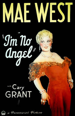 Im No Angel, Mae West, 1933 Poster by Everett