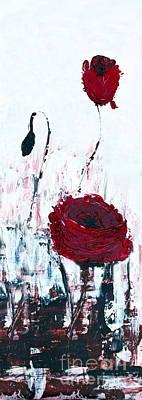 Impressionist Floral B8516 Poster