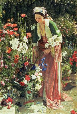 In The Bey's Garden Poster