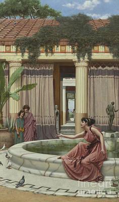 Innocent Amusements, 1891 Poster by John William Godward