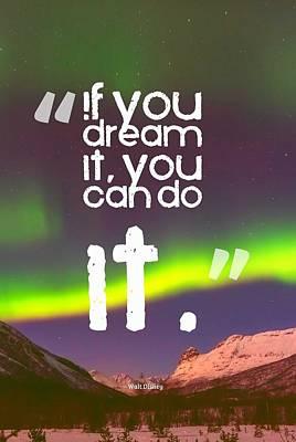 Inspirational Timeless Quotes - Walt Disney Poster