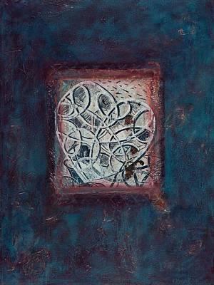 Inspirit - Where Spirit Resides Series Poster by Kerryn Madsen-Pietsch