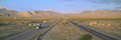 Interstate 15, Near Las Vegas, After Poster by Panoramic Images