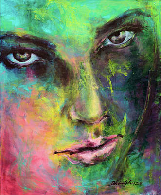 Introspection 2 Poster by Dorina Costras