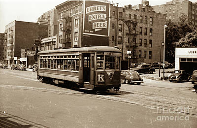 Poster featuring the photograph Inwood Trolley by Cole Thompson