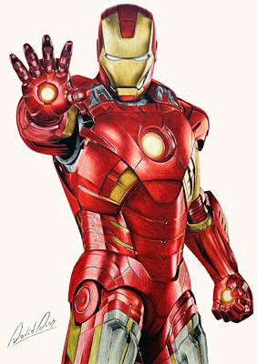 Iron Man Poster by David Dias