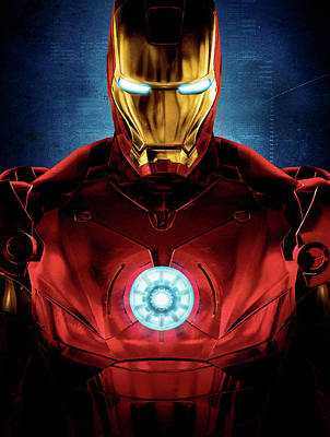 Iron Man Poster by Caio Caldas