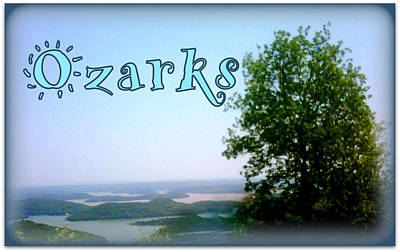 Isle Of The Ozarks  Poster by Lesli Sherwin