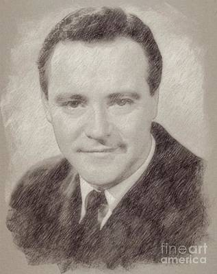 Jack Lemmon Hollywood Actor Poster by Frank Falcon