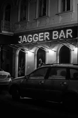 Jagger Bar In Ufa Russia Poster