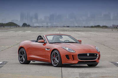 Poster featuring the photograph Jaguar F-type Convertible by ItzKirb Photography