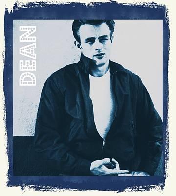 James Dean Poster by John Springfield