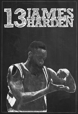 James Harden Poster