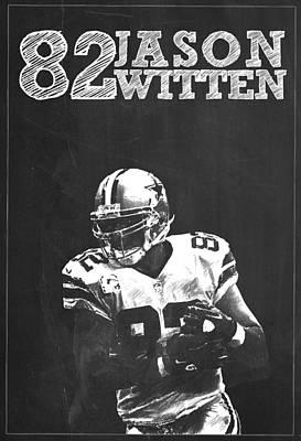 Jason Witten Poster by Semih Yurdabak
