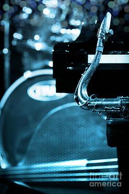 Jazz Quartet Poster by Konstantin Sevostyanov