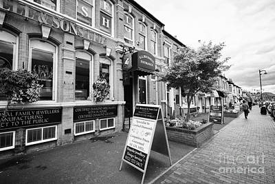 Jewellery Shops On Vyse Street Jewellery Quarter Birmingham Uk Poster