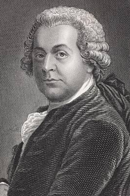 John Adams 1735 - 1826. First Vice Poster