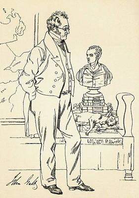 John Galt, 1779-1839. Scottish Author Poster