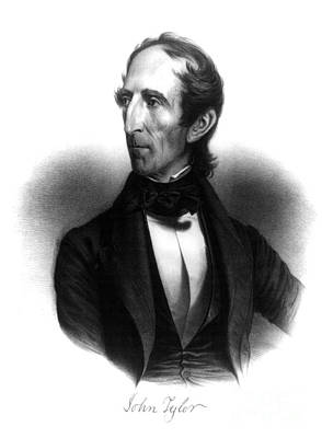 John Tyler, 10th U.s. President Poster by Science Source