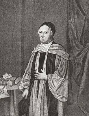 John Wallis, 1616 To 1703. English Poster