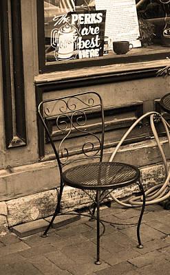 Jonesborough Tennessee - Coffee Shop Poster by Frank Romeo