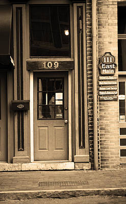 Jonesborough Tennessee - Main Street Poster by Frank Romeo
