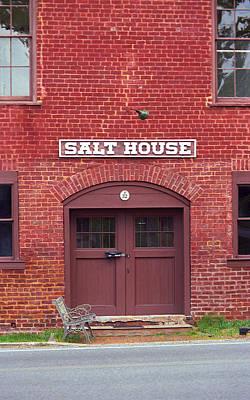 Jonesborough Tennessee - Salt House Poster by Frank Romeo